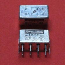2 STK. HF RELAIS SM 32 E4 S6S 2 x WECHSLER NEU 24VDC 600MHz 2pcs.