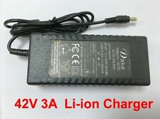 Alimentatore carica batteria charger X pacchi batterie X bici litio  42 V 3A