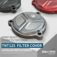 Spirit Beast Motorcycle Oil Fuel Filter Cover Guards for Benelli TNT125 TNT135