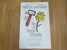 Me & Mamie O'ROURKE  Dawn FRENCH &  Jennifer SAUNDERS  Strand Theatre Poster