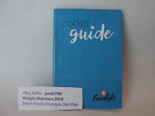 Weight Watchers 2018 FREESTYLE Diet POCKET GUIDE - Food Points Guide *Brand NEW*