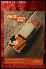 Das Auto AMS Auto Motor Sport 22/53 DB 170 Austin Healey VW Cabrio