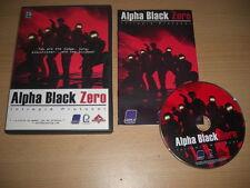 ALPHA BLACK ZERO - Intrepid Protocol Pc Cd Rom - FAST DISPATCH