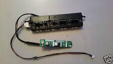 "Sensore Infrarossi dntke 457WE + PULSANTI FE266WJ per SHARP TV LCD TV 32"" LC-32D44E-BK"
