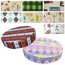 """2""""/5cm Round Box Shape Cover*Modern Cotton Canvas Chair Seat Cushion Case *AL5"""