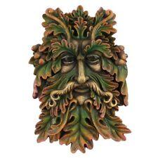 GREEN MAN FACE GARDEN PLAQUE SIGN
