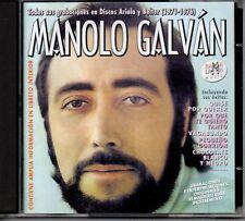 Maolo Galván –Todas Sus Grabaciones Discos Ariola y Belter 1971-1976 - 2CDs 2001