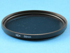 58mm ND4 Filter Neutral Density for Sigma,Canon,Nikon,Sony,Pentax Camera Lens