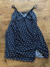 Black And White Polka Dot Bows XL Nightgown Lingerie