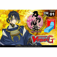CARDFIGHT VANGUARD CARDS: TOUKEN RANBU SEALED BOOSTER BOX - 12 PACKS - VG-G-CB01