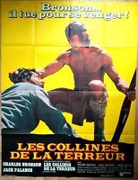 Plakat Kino Western Les Hügel De La Terreur Charles Bronson 120 X 160 CM