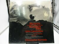 ROSEMARY'S BABY Ost LP Dot 25875, In Shrink, Horror Soundtrack M c VG+