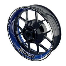 Felgenaufkleber Motorrad Felgenrandaufkleber Wheelsticker Yamaha Saw blau