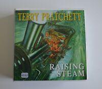 Raising Steam: by Terry Pratchett - Unabridged Audiobook - 11CDs