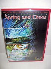 SPRING & CHAOS  shoji kawamoris DVD tokyopop TPV-872 region free 2001 oop RARE!!