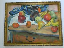 FREDERICK BUCHHOLZ STILL LIFE  ANTIQUE 1920'S NEW YORK IMPRESSIONIST MODERNIST