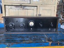 Nice Antique Homebrew Battery Set Tube Radio
