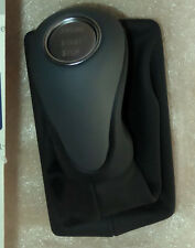 Mercedes-Benz OEM SL Class R230 Black & Graphite Leather Shift Knob Push Start