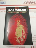 RORSCHACH #1 JORGE FORNES DC COMICS BLACK LABEL 1st ISSUE WATCHMEN DOOMSDAY