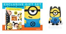 DESPICABLE ME 3: EXCLUSIVE GIFT (2017, BLU-RAY+DVD+DIGITAL) WITH MINION BACKPACK