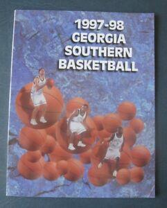 Georgia Southern Eagles--1997-98 Men's Basketball Media Guide