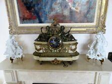 Antike prachtvolleTischuhr,Pendule,Kaminuhr,kompl.läuft und schlägt einwandfrei