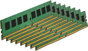 128GB (8x16GB) Memory PC4-19200 LONGDIMM For DESKTOP PC DDR4-2400MHz