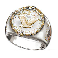 Fashion Animal Silver Eagle Ring Women Men Wedding Jewelry Gift Size 7-13