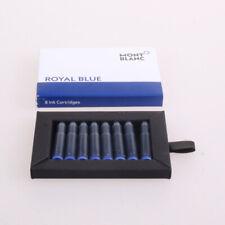 Montblanc Cartouches D''''encre Royal Blue vendues par 8