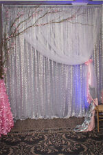 7ft*7ft Silver Sequin Backdrop Photography,Sequin Backdrop Photo Booth for Sale