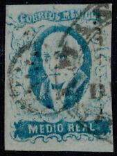 yp01 Mexico #1 1/2R 1856, Guanajuato / LEON Sz 500/501 Est $20-60 VF Beauty