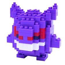 Authentic Kawada Pokemon Nanoblock Micro Building Blocks - Gengar