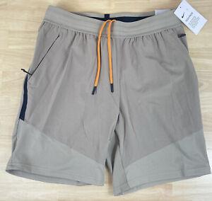 Nike Tech Pack Flex Woven Khaki Tan Shorts - BV3246-247 - Men's Large - NWT $85
