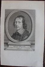 GILLES MENAGE (1613-1692) ECRIVAIN ET GRAMMAIRIEN , PORTRAIT , 1760