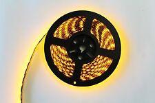 Black PCB 16.4ft 5M 5050 SMD 300 Waterproof LED Flexible Strip Lights Lamp 12V