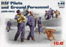 ICM RAF PILOTS & GROUND PERSONNEL 1939/45 1:48 48081