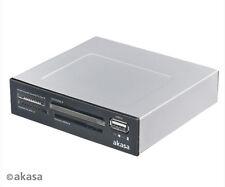 Akasa AK-ICR-03USBV2 Internal Four Slot Card Reader and USB Port