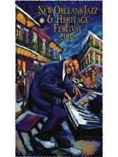 New Orleans Jazz Fest Poster 2006 Fats Domino JAMES MICHALOPOULOS Mint Unsigned