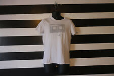 Abercrombie & Fitch Muscle Boys White Tee Shirt Size L Large