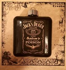 Jack Daniels Inspired Halloween Ornament Witch Party Decoration Salem's Poison