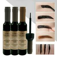 3 Colors Peel-Off Eyebrow Tattoo Tint Brow Gel Waterproof Long-Lasting Makeup UK