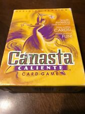 Canasta Caliente Card Game Parker Brothers 2001 Official  Cards