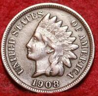 1908-S San Francisco Mint  Indian Head Cent
