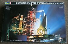 1/144 Revell Launch Tower & Space Shuttle w/Booster Rockets