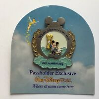 Annual Passholder Exclusive Where Dreams Come True 2007 Mickey Disney Pin 51976