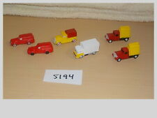 N Scale Car & 00004000 amp; Delivery Truck Lot 6pcs Model Train Layout #5194