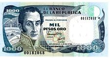 Colombia ... P-424a ... 1000 Pesos ... (01.04.1992) ... *UNC* ... REPLACEMENT