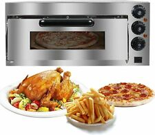 Commercial Electric Pizza Oven Toaster Single Deck Broiler Pizza Machine 2000w