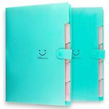 Placstic Expanding File Folders Accordion Document Organizer5 Pocketa4 Letter
