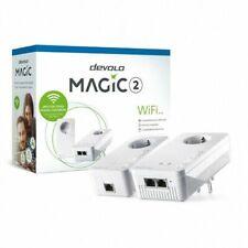 devolo Magic 2 WiFi 2-1 Starter Kit para Red Inalámbrica Mallada - Blanco (8389)
